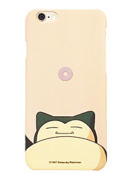 Pocket Little Monster Snorlax 4.7 inch Iphone 6/6S Hard Matting Cellphone Cover