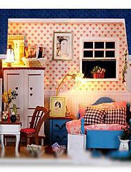 Lampeneinheit Modell diy Kabine Mini-Villen Häuser