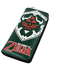 Sac / Portefeuilles Inspiré par The Legend of Zelda Cosplay Anime Accessoires de Cosplay Portefeuille Noir Nylon Masculin / Féminin