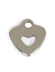 Подвески Металл Heart Shape как изображение 50Pcs