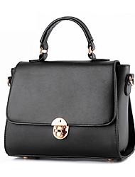 Women Cowhide Formal / Event/Party / Office & Career Shoulder Bag Multi-color