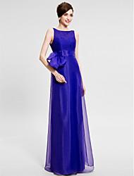 Trumpet/Mermaid Mother of the Bride Dress - Floor-length Sleeveless Organza