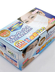 Japan Disposable Non Woven Three Layers Of Gauze Mask Anti Pollen Dust Mask 50 Pieces