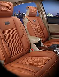 couverture de siège de voiture de luxe siège unique universel de protection housses de siège avec l'ensemble d'oreillers