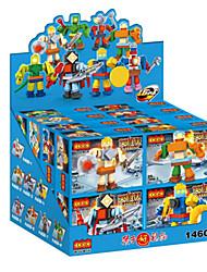 jepcon super-herói tijolos de brinquedo bloco de quebra-cabeça garoto de brinquedo de plástico montada
