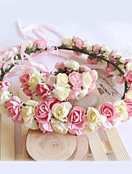 Jeune bouquetière Papier Casque-Mariage / Occasion spéciale Fleurs 1 Pièce