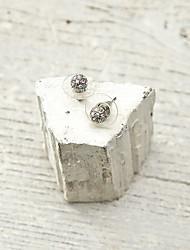Cirkelvorm,Sieraden 1 paar Modieus Zilver Legering Causaal