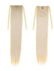 """synthétique droite queue de cheval 50cm 22inch 100g # ruban queue de cheval """"613 blondes mode couleur extensions de cheveux de queue de"""