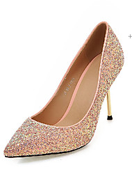 Women's Shoes  Fall Heels Heels Outdoor / Office & Career / Casual Stiletto Heel Sequin / Sparkling Glitter&9-83