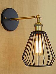 classiche applique tradizionali / E26 / E27 parete metallica
