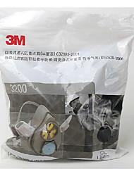 n95 3200 3m poeira profissional máscara de pó de polimento industrial de protecção nevoeiro máscara PM2.5 e uma máscara de neblina
