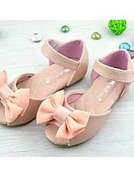 Girl's Sandals Summer Comfort Faux Leather Outdoor Casual Pink White
