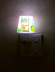 1pc New Night Light Lamp Lovely Home LED Bedside Night Light