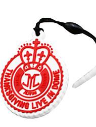 JYJ poussière de téléphone prise logo de la marque