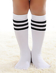 Girls / Boys Socks & Stockings,All Seasons Cotton Black / White