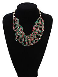 Bohemian Small Fresh Knot Necklace Heart