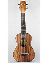 kleine Gitarre braun Burst String Musikinstrument Fall
