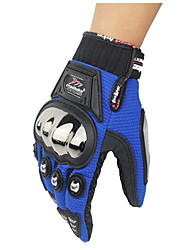 Stainless Steel Alloy Motorcycle Full Finger Gloves Drop Resistance Protective Shell UV Breathable Wear Non-Slip