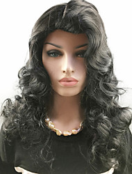 Europe and New High-Quality Fashion Synthetic Hair Wig High Temperature Body Wave Syntheic Wigs