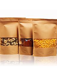 frutta secca e tè e uno spuntino kraft sacchetto del pacchetto sigillato