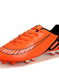 Men's / Women's Shoes Synthetic Athletic Shoes Soccer Split Joint Dark Blue /  Orange