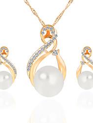Schmuck Halsketten / Ohrringe Halskette / Ohrringe / Braut-Schmuck-Sets Künstliche Perle / Modisch Hochzeit / Party / Alltag / Normal1