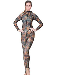 Others Women's Diving Suits Diving Suit Compression Wetsuits 2.5 to 2.9 mm Gray XS / S / M / L / XL Diving