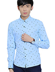 Men's clothing long sleeve shirts