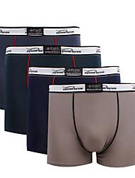 Jinfengtian Masculino Algodão / Algodão Organico Cuecas Boxers 4 / caixa-1002