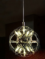 220V 20*20CM 5-10㎡Contracted And Contemporary Chandelier Creative Round Droplight Lamp Led Light