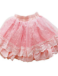 Girls' Casual/Daily Striped Skirt-Cotton Summer