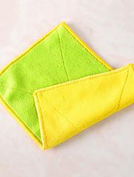 óleo de pano prova fácil ferramentas de pano de limpeza, têxtil (cor aleatória)
