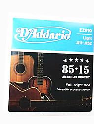 Daddario Ez910 85 / 1511-52 Acoustic Guitar String Acoustic Guitar Strings D'Addario Strings