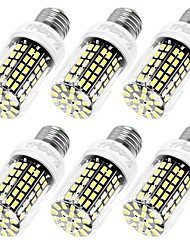 YouOKLight 6PCS High Luminous E27 E12 110V 108*SMD5733 LED Corn Bulb 10W Spotlight LED Lamp Candle Light