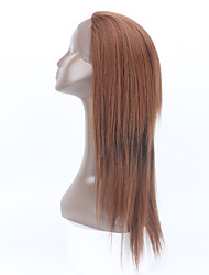 "20"" Glueless Synthetic Lace Front Wig Medium Straight  For black women Lace FrontWigs Synthetic Hair Heat Resistant Wig"