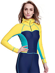 SBART® Women's Wetsuits Full Wetsuits Breathable Ultraviolet Resistant Compression Full Body Tactel Diving Suit Diving Suits-Diving