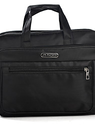 Unisex Canvas Formal / Sports / Office & Career / Shopping / Outdoor Laptop Bag Black