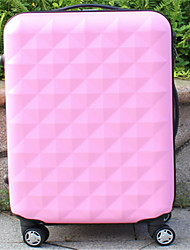 Unisex PVC Outdoor Luggage Pink / Green / Yellow / Red / Black