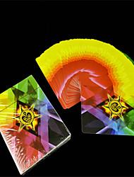Poker magic props - Rainbow card (Diamond Four Color Cards)