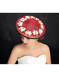 Women's Flax Headpiece-Special Occasion Fascinators 1 Piece