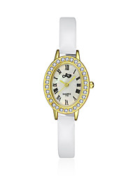 noble quartz de mode diamant 18k 2016 luxe or femmes en cuir blanc montres