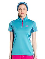 Autres Femme Doux Sport de détente Hauts/Tops / Tee-shirt Bleu Ciel