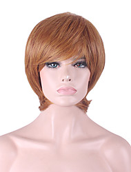 Best-selling Europe And The United States COS Wig Men Tung Brown Short  Wig 3 Inch