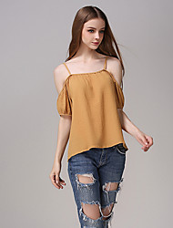 Women's Sexy Strap Strapless Blouse Solid Color Batwing Loose Boat Neck Women'swm Vests Toob Tube Top