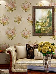 Contemporary Wallpaper Art Deco 3D Romantic Garden Wallpaper Wall Covering Non-woven Fabric Wall Art