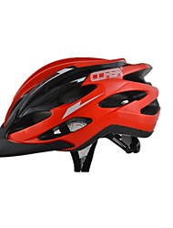 Men's Sports Bike helmet 24 Vents Cycling Cycling / Mountain Cycling / Road Cycling  PVC Red