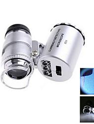Lupas / Microscôpio Jóias Alta Definição / De Mão 60 10mm Normal Plástico