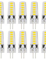 YouOKLight 10PCS 5733 Lampada LED Lamp 12V G4 Silicone Light bombillas led Bulb 12LEDS Bi-pin Lights
