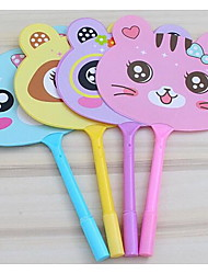 Pupils Ball-Point Pen Children Cute Cartoon Fans