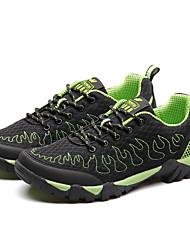 Ботинки / Походные ботинки(Зелёный) -Муж.-Пешеходный туризм